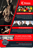 Fitness Gym Performance Flyer