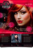 Hair Salon Business Flyer