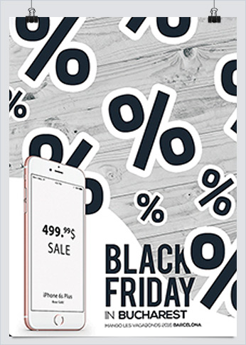 Black Friday Deals Flyer Template