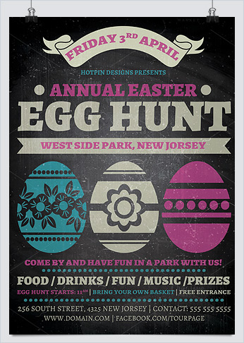 Best Flyer Templates For Easter Day Events  Hollymolly