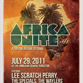 Africa Unite - Reggae Flyer/Poster