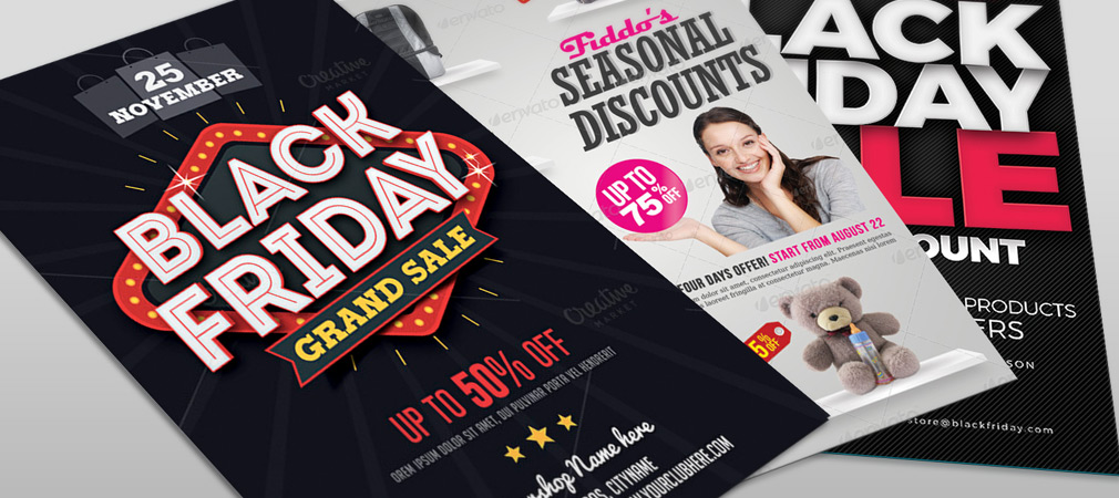 Best Business Flyer Templates for Black Friday Promotion