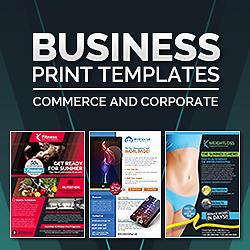 Business Photoshop Print Templates