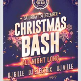Christmas Bash Party Flyer