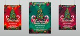 Christmas Charity Event Party Flyer Template