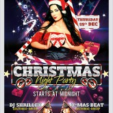 Christmas Night Party Flyer