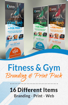 Fitness Gym Corporate Identity