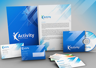 fitness and gym stationery