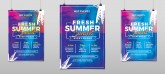 Fresh Summer Events Flyer Photoshop Template