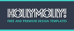 HollyMolly - Club and Business Photoshop Templates