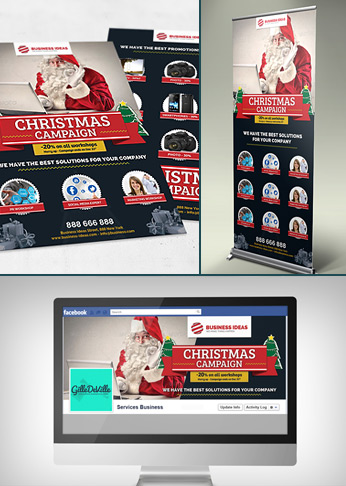 Multipurpose Corporate Business Christmas Pack