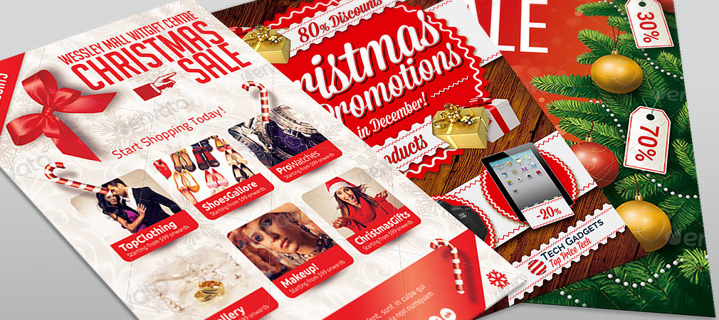 Best Christmas Promotion Flyers For Business Hollymolly