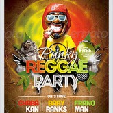 Punky Reggae Party Flyer Template