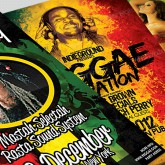 Reggae Jamaican Party FLyer