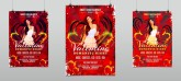Romantic Valentine Night Party Flyer Template