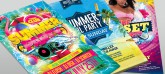 Summer Beach Flyer Collection