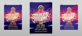 Summer Beach Party Event Flyer Template