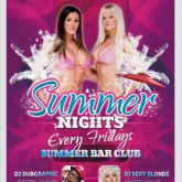 Summer Nights Dance Flyer