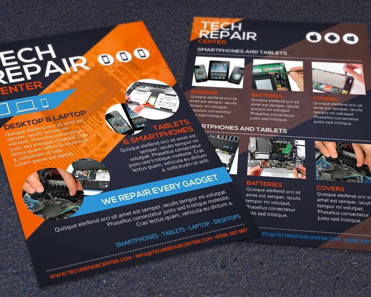 Tech Repair Commerce Flyer