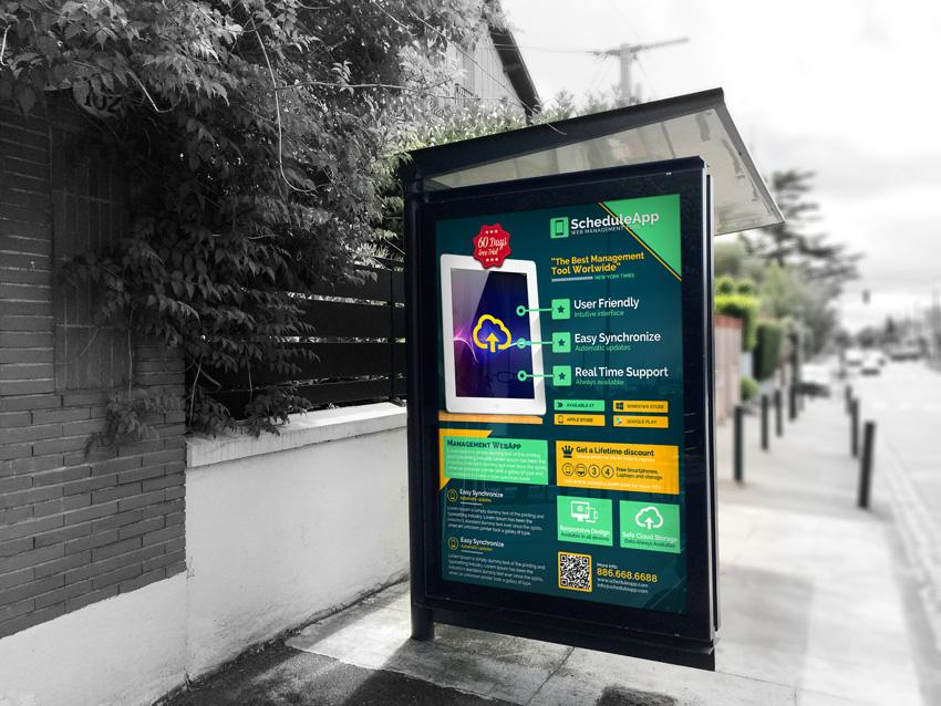 Web App & Technology Business Flyer